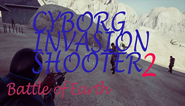 Cyborg Invasion Shooter 2 Battle Of Earth
