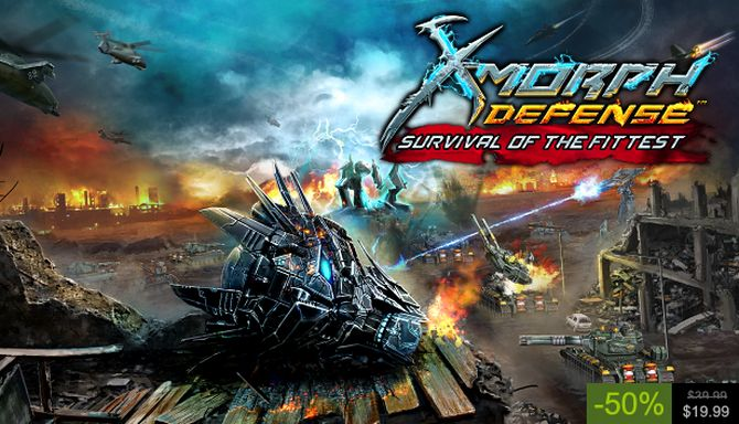 X Morph Defense Survival Of The Fittest