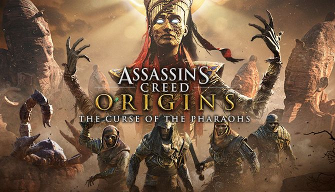 Assassins Creed Origins The Curse of the Pharaohs Crack Only READNFO-CODEX