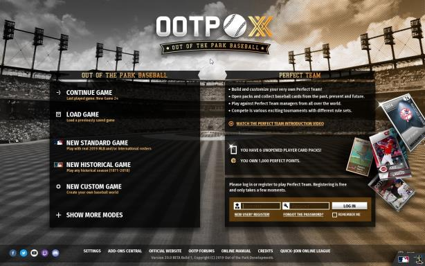 Out of the Park Baseball 20 Torrent Download