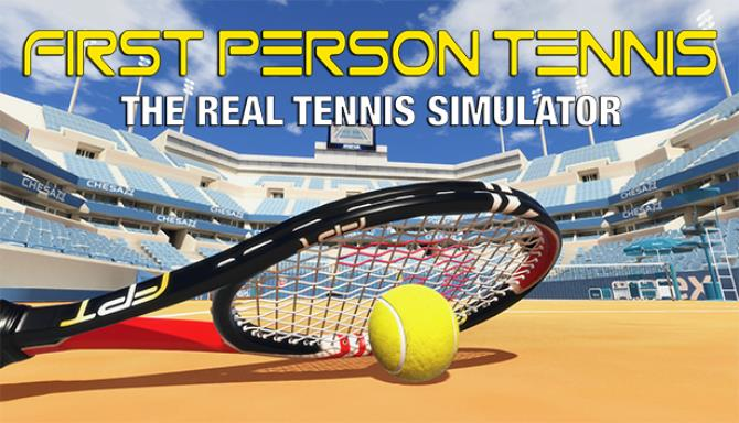 First Person Tennis The Real Tennis Simulator-SKIDROW