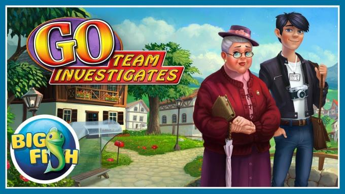 GO Team Investigates Solitaire and Mahjong Mysteries Free Download