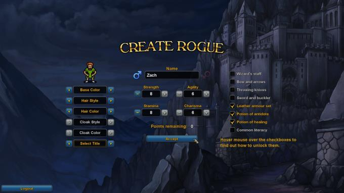 Rogue's Tale Torrent Download