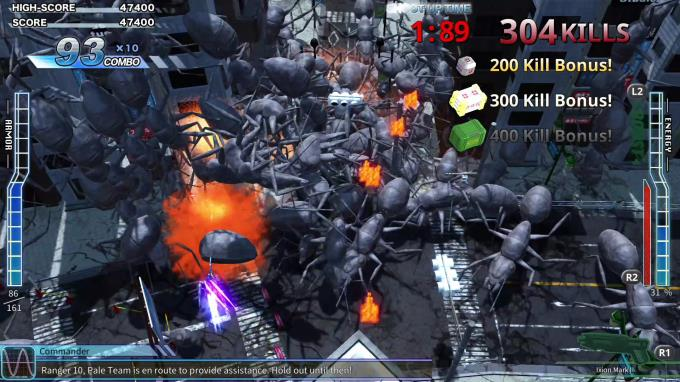 EARTH DEFENSE FORCE 4 1 Wingdiver The Shooter Update v20190625 incl DLC PC Crack