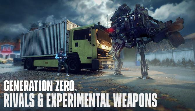 Generation Zero Rivals Experimental Weapons Free Download