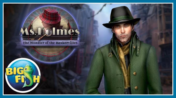 Ms Holmes The Monster of the Baskervilles Collectors Edition-RAZOR