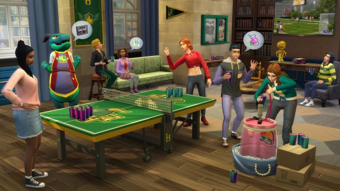 The Sims 4 Discover University PC Crack
