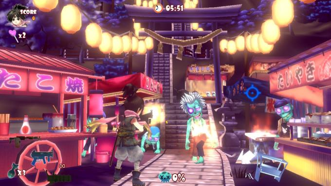 Zombie Panic In Wonderland DX Torrent Download