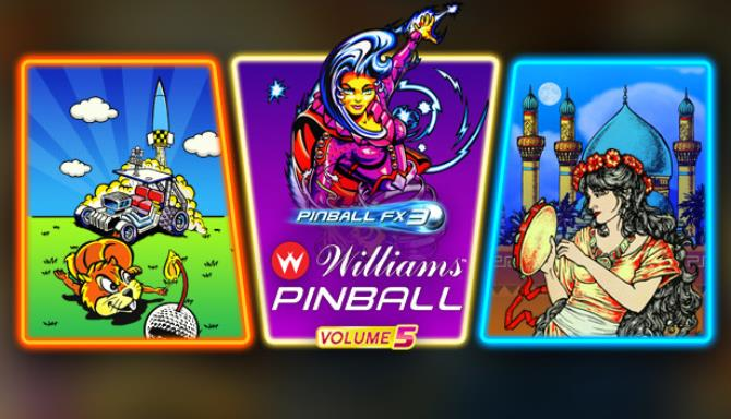 Pinball FX3 Williams Pinball Volume 5 Free Download