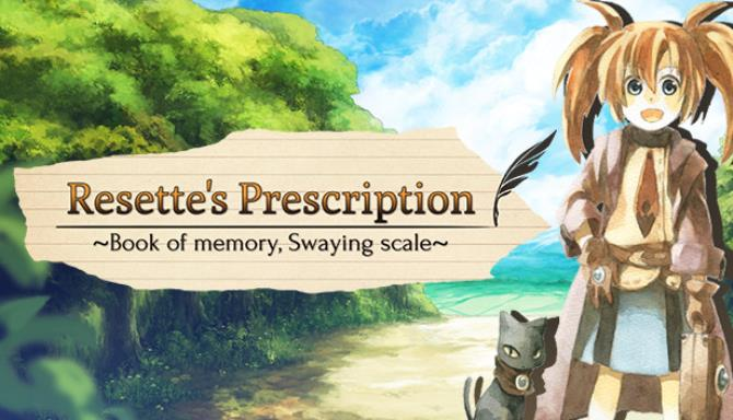 resettes prescription book of memory swaying scale