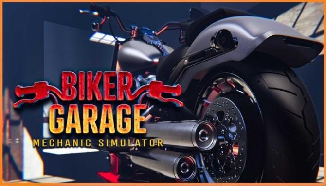 biker garage mechanic simulator junkyard plaza