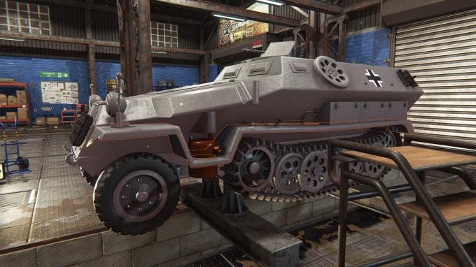 Tank Mechanic Simulator PC Crack