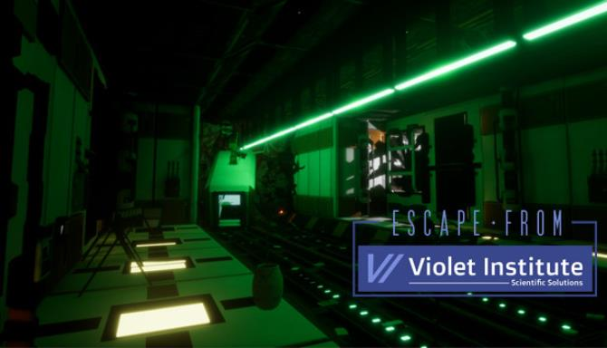 Escape From Violet Institute-PLAZA