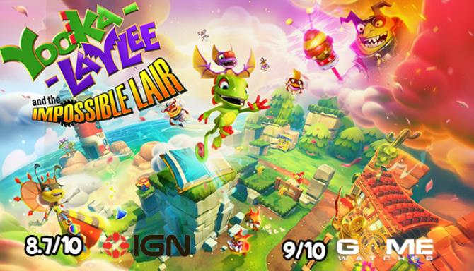 Yooka-Laylee and the Impossible Lair Not So Impossible Lair-PLAZA