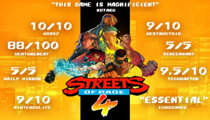 Streets of Rage 4 Update 2-CODEX