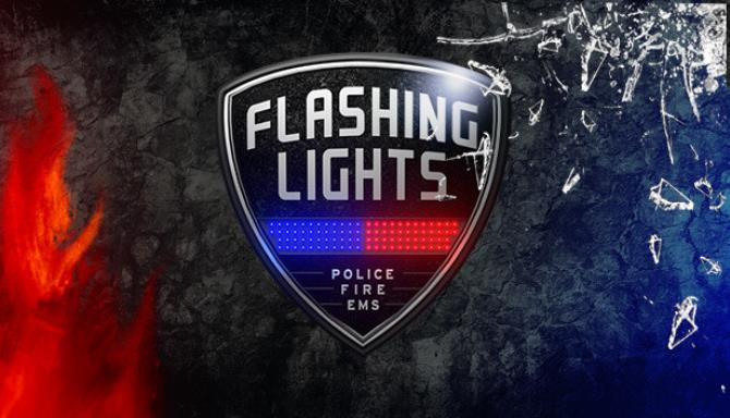 Flashing Lights Police FireFighting Emergency Services Simulator Free Download