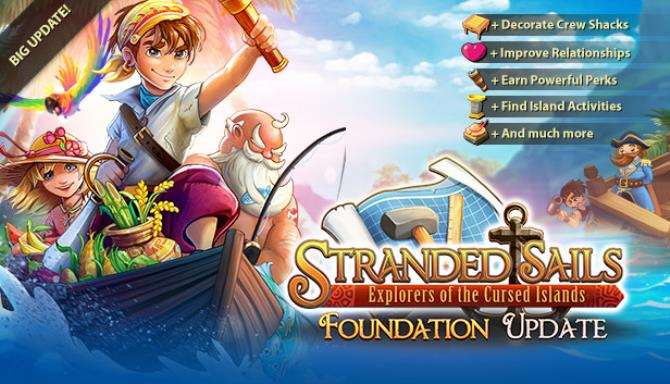 Stranded Sails Explorers of the Cursed Islands The Foundation RIP-SiMPLEX