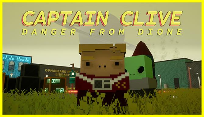 Captain Clive Danger From Dione-PLAZA
