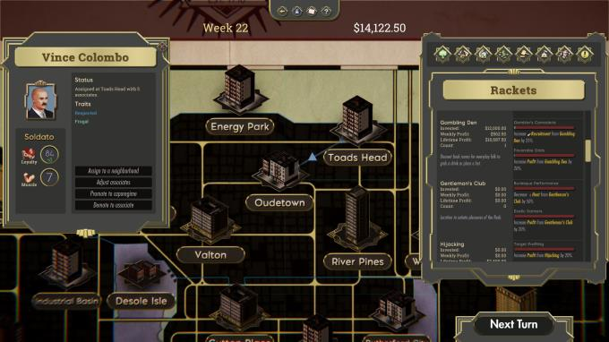 The Commission: Organized Crime Grand Strategy Torrent Download
