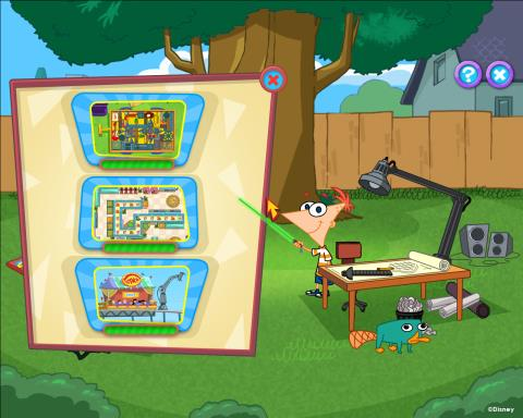 Phineas and Ferb: New Inventions PC Crack