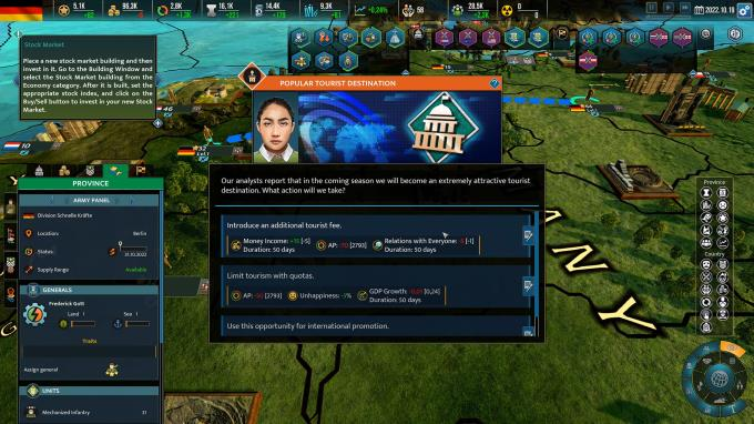 Realpolitiks II v0.73 PC Crack
