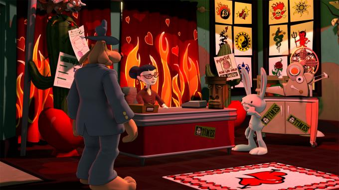 Sam and Max Save the World PC Crack