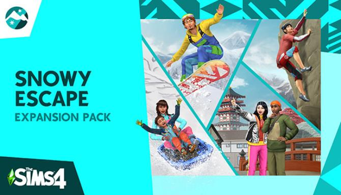 The Sims 4 Snowy Escape Expansion Pack v1.69.59.1020 Update Only