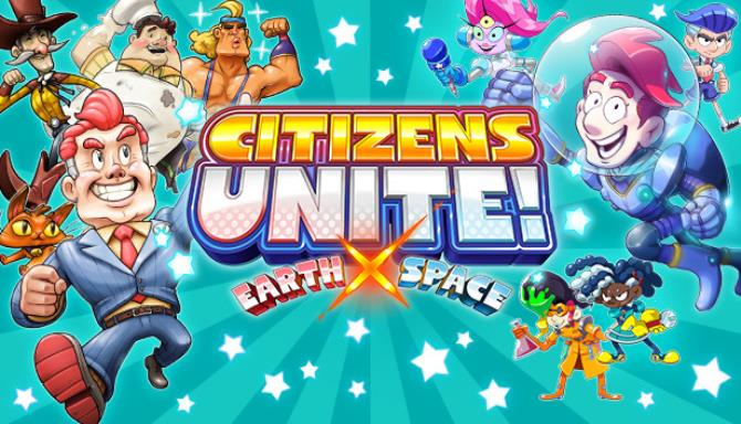 Citizens Unite Earth x Space-DARKSiDERS