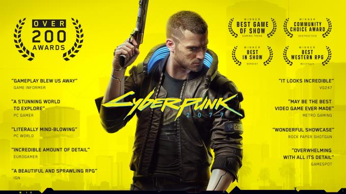 Cyberpunk 2077 v1.1 PC Crack