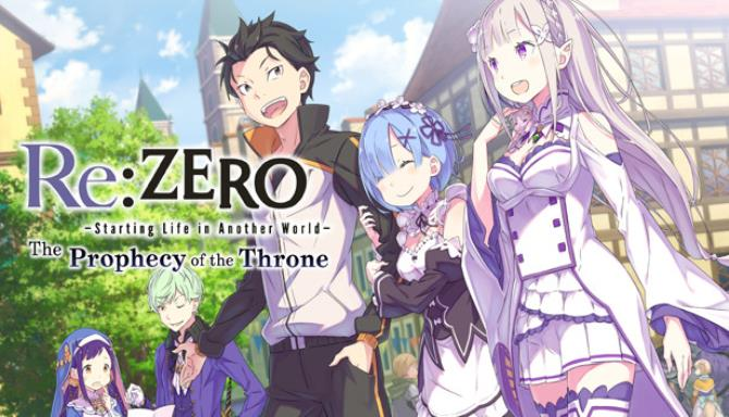 Re ZERO Starting Life in Another World The Prophecy of the Throne-DARKSiDERS