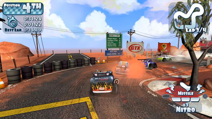 Mini Motor Racing X Party Pack PC Crack
