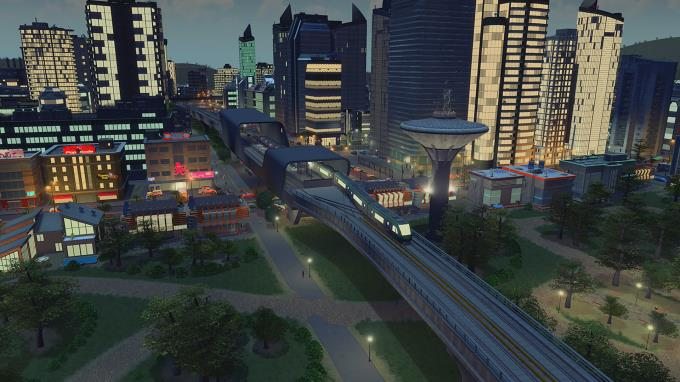 Cities Skylines Train Stations PC Crack