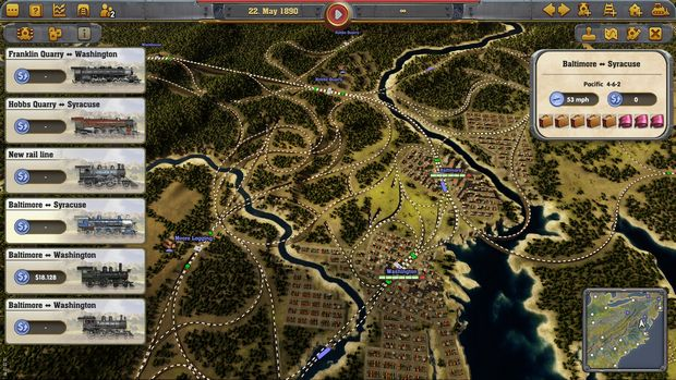 Railway Empire Complete Collection v1.14.1.27369 PC Crack